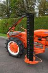 1947 Allis Chalmers B tractor c/w mid mounted mower
