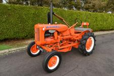 1947 Allis Chalmers B tractor c/w mid mounted mower.