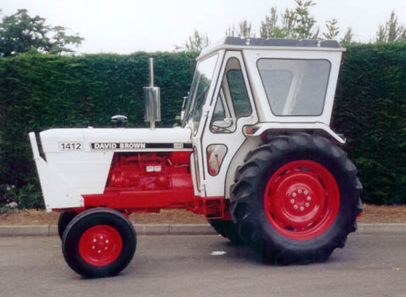 David Brown Tractor on